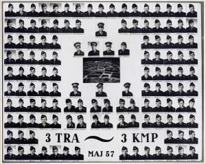 1957 3 TRAINAFD - 3 KMP MAJ 1957