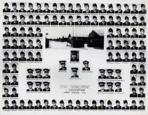 1966 1 KMP - REKRUTSKOLE HVORUP 1966