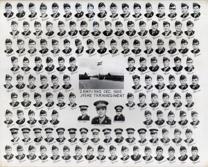 1966 2 KMP - REKRUTSKOLE HVORUP DEC 1966
