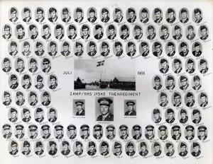 1966 2 KMP - REKRUTSKOLE HVORUP JUL 1966