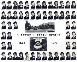 1973 3 RKKMP - 3 TRBTN HVORUP MAJ 1973
