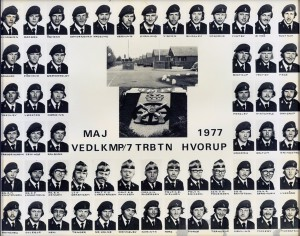 1977 VEDLKMP - 7 TRBTN HVORUP MAJ 1977
