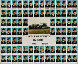 1986 VEDLKMP - UDTRBTN HVORUP JULI 1986