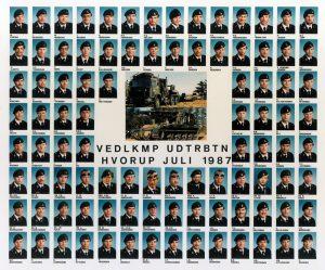 1987 VEDLKMP - UDTRBTN HVORUP JULI 1987