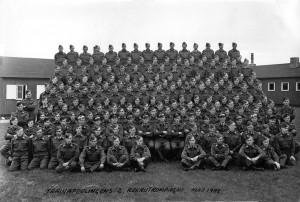 1948 Trainafdelingens 2 Rekrutkompagni