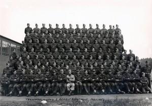 1950 Trainafdelingens 2 Rekrutkompagni Maj