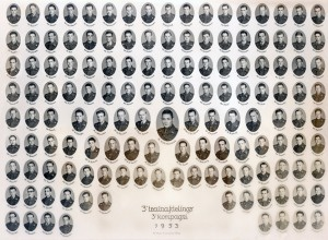 1953 - 3 Trainafdelings 3 Kompagni