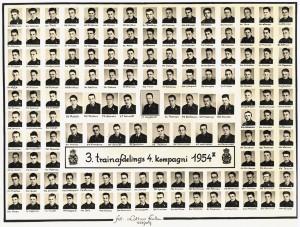 1954 3 Trainafdelings 4 Kompagni 1954 II