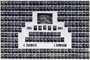 1954 4 TRAINAFD - 1 KMP 1953 - 1954