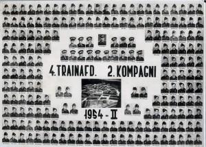 1954 4Trainafdeling 2 Kompagni hold 2