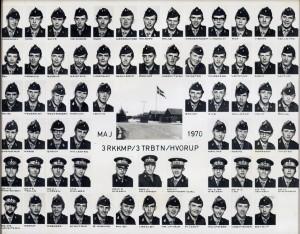 1970 3 RKKKMP - 3 TRBTN HVORUP MAJ 1970