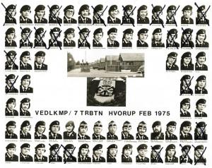 1975 VEDLKMP - 7 TRBTN HVORUP FEB 1975
