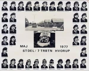 1977 STDEL - 7 TRBTN HVORUP MAJ 1977