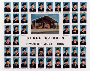 1986 STDEL - UDTRBTN HVORUP JULI 1986